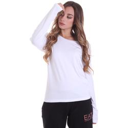 Odjeća Žene  Majice dugih rukava Ea7 Emporio Armani 6HTT04 TJ28Z Bijela