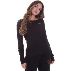 Odjeća Žene  Majice dugih rukava Ea7 Emporio Armani 6HTT04 TJ28Z Crno