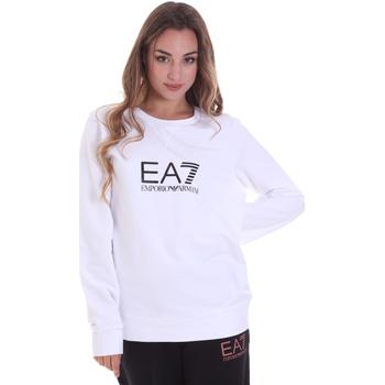 Odjeća Žene  Sportske majice Ea7 Emporio Armani 8NTM39 TJ31Z Bijela