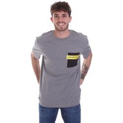 Odjeća Muškarci  Majice kratkih rukava Calvin Klein Jeans K10K105579 Siva
