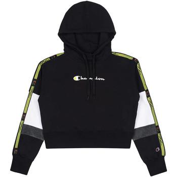 Odjeća Žene  Sportske majice Champion 113338 Crno