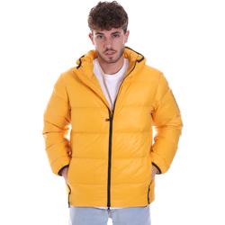 Odjeća Muškarci  Pernate jakne Ea7 Emporio Armani 6HPB53 PNR4Z Žuta boja