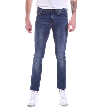 Odjeća Muškarci  Slim traperice Gaudi 021GU26001L32 Plava