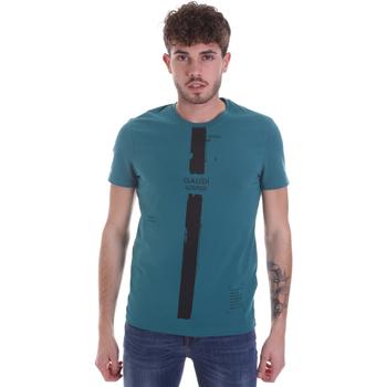 Odjeća Muškarci  Majice kratkih rukava Gaudi 021GU64035 Zelena