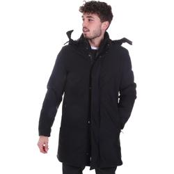 Odjeća Muškarci  Kaputi Sseinse GBI684SS Crno