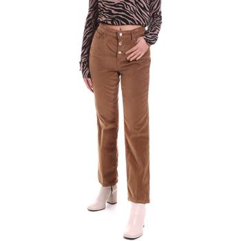Odjeća Žene  Hlače s pet džepova Liu Jo WF0312 T4590 Smeđa