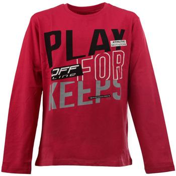 Odjeća Djeca Majice dugih rukava Losan 023-1627AL Crvena