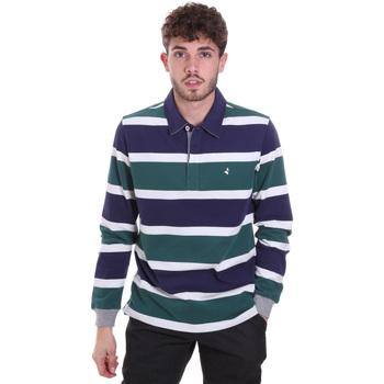 Odjeća Muškarci  Polo majice dugih rukava Navigare NV30026 Plava