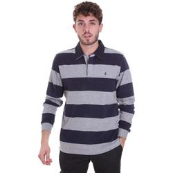 Odjeća Muškarci  Polo majice dugih rukava Navigare NV30029 Plava