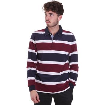 Odjeća Muškarci  Polo majice dugih rukava Navigare NV30026 Crvena