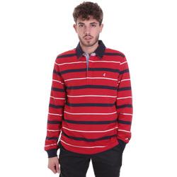 Odjeća Muškarci  Polo majice dugih rukava Navigare NV30030 Crvena