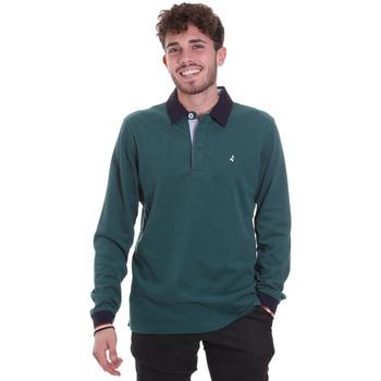 Odjeća Muškarci  Polo majice dugih rukava Navigare NV32023 Zelena