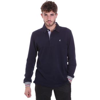 Odjeća Muškarci  Polo majice dugih rukava Navigare NV32023 Plava