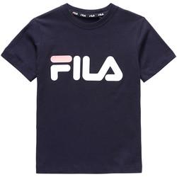 Odjeća Djeca Majice kratkih rukava Fila 688021 Plava