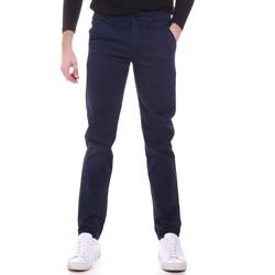 Odjeća Muškarci  Chino hlačei hlače mrkva kroja Sseinse PSI646SS Plava