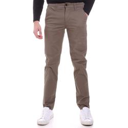 Odjeća Muškarci  Chino hlačei hlače mrkva kroja Sseinse PSI646SS Bež
