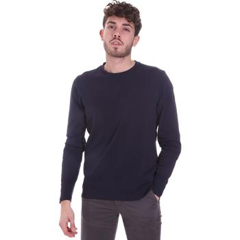 Odjeća Muškarci  Majice dugih rukava Sseinse MI1691SS Plava
