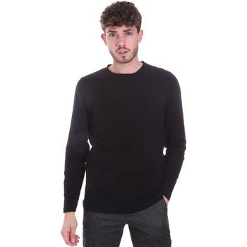 Odjeća Muškarci  Majice dugih rukava Sseinse MI1691SS Crno