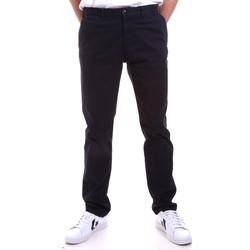 Odjeća Muškarci  Chino hlačei hlače mrkva kroja Navigare NV55197 Plava