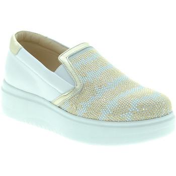 Obuća Žene  Slip-on cipele Exton E02 Bijela