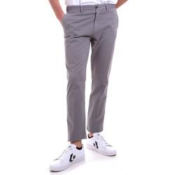 Odjeća Muškarci  Chino hlačei hlače mrkva kroja Navigare NV55197 Siva