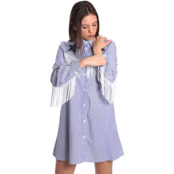 Odjeća Žene  Kratke haljine Denny Rose 811DD10018 Plava