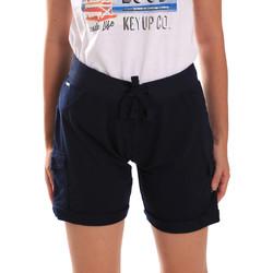 Odjeća Žene  Bermude i kratke hlače Key Up 5G75F 0001 Plava