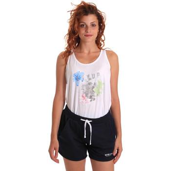 Odjeća Žene  Dvodijelne trenirke Key Up 5K78A 0001 Bijela