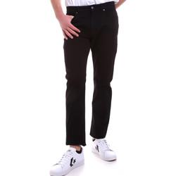 Odjeća Muškarci  Hlače s pet džepova Navigare NV53095 Crno