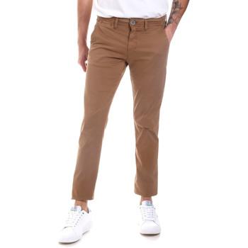Odjeća Muškarci  Chino hlačei hlače mrkva kroja Gaudi 011BU25022 Bež
