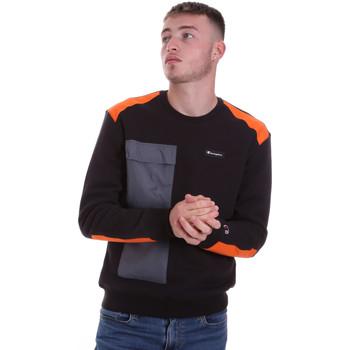 Odjeća Muškarci  Sportske majice Champion 214805 Crno