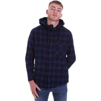 Odjeća Muškarci  Košulje dugih rukava Antony Morato MMSL00636 FA410149 Plava