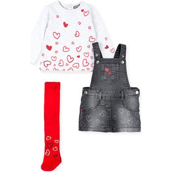 Odjeća Djevojčica Dječji kompleti Losan 028-8002AL Siva
