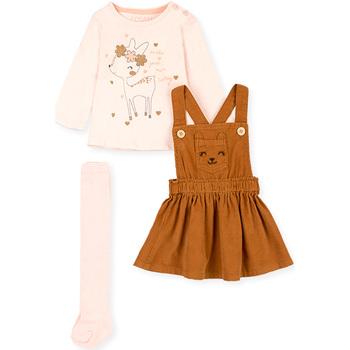 Odjeća Djevojčica Dječji kompleti Losan 028-8005AL Ružičasta