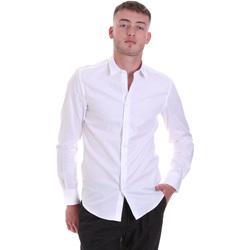 Odjeća Muškarci  Košulje dugih rukava Antony Morato MMSL00628 FA400079 Bijela