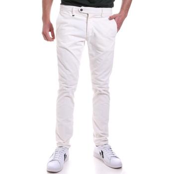 Odjeća Muškarci  Chino hlačei hlače mrkva kroja Antony Morato MMTR00572 FA310002 Bijela