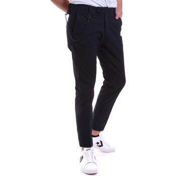 Odjeća Muškarci  Chino hlačei hlače mrkva kroja Antony Morato MMTR00591 FA850248 Plava