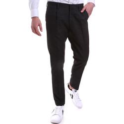 Odjeća Muškarci  Chino hlačei hlače mrkva kroja Antony Morato MMTS00005 FA650205 Crno