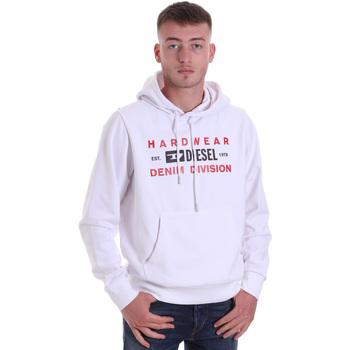 Odjeća Muškarci  Sportske majice Diesel A00325 0HAYT Bijela