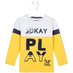 Odjeća Djeca Majice dugih rukava Losan 025-1012AL Žuta boja
