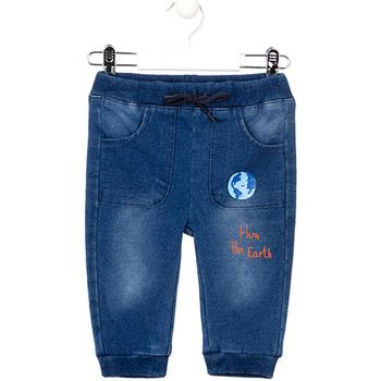 Odjeća Djevojčica Slim traperice Losan 027-6017AL Plava