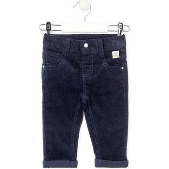Odjeća Djeca Hlače s pet džepova Losan 027-9001AL Plava
