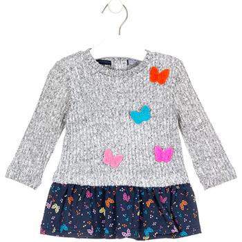 Odjeća Djevojčica Kratke haljine Losan 028-7015AL Siva