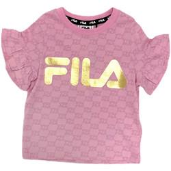 Odjeća Djevojčica Majice kratkih rukava Fila 688038 Ružičasta