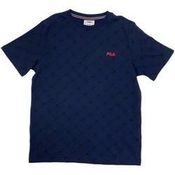 Odjeća Dječak  Majice kratkih rukava Fila 688084 Plava