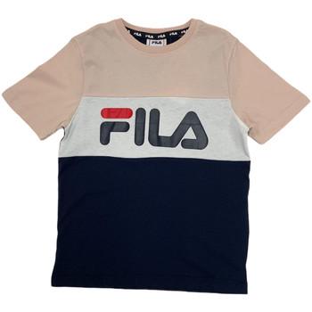 Odjeća Djeca Majice kratkih rukava Fila 688141 Ružičasta