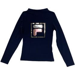 Odjeća Djeca Majice dugih rukava Fila 688102 Plava