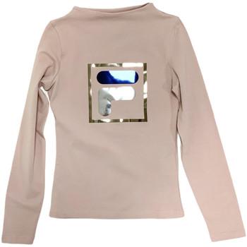 Odjeća Djeca Majice dugih rukava Fila 688102 Bež