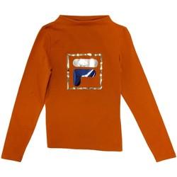 Odjeća Djeca Majice dugih rukava Fila 688102 Naranča