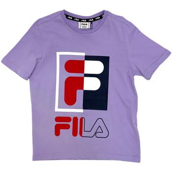 Odjeća Djeca Majice kratkih rukava Fila 688149 Ružičasta